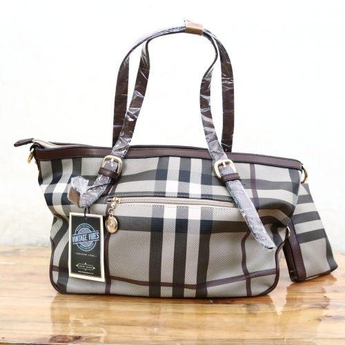 Lei Shi Handbag Wanita Cokelat