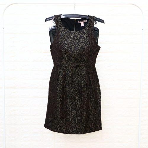 Forever 21 Dress Wanita Hitam Motif S