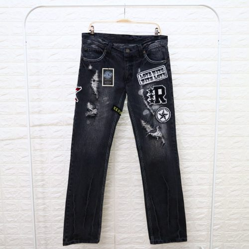 Clone Devgru Celana Jeans Pria Abu Abu 34